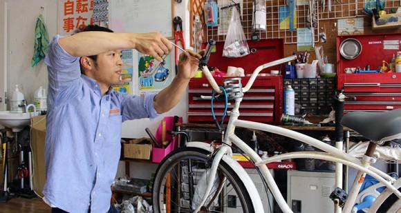 自転車屋仕事体感