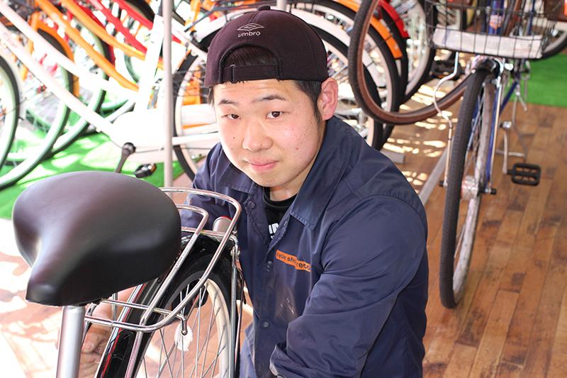 好きを仕事にする!自転車屋